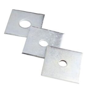 Square Plate Washer M12 50 x 50 x 3mm Pk100