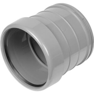 Single Socket Coupler 110mm Grey