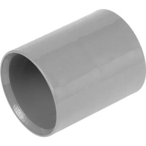 Solvent Straight Coupling 40mm Grey