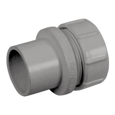 Solvent Weld Access Plug 50mm Grey