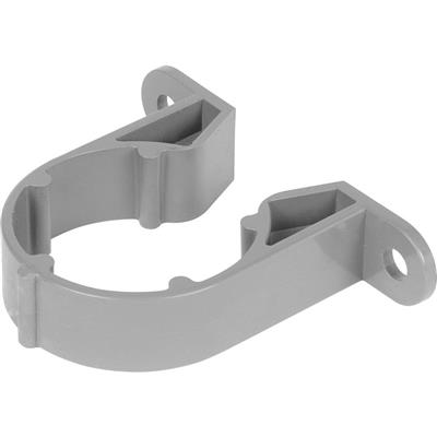 Pipe Clip 50mm Grey