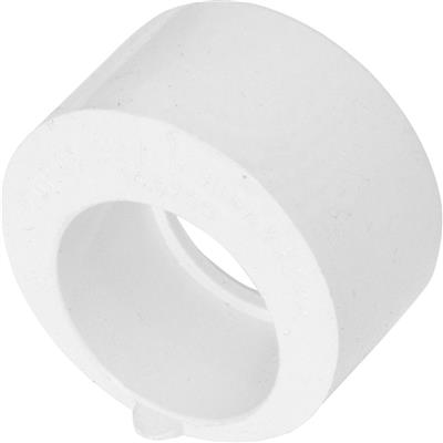 Solvent Weld Overflow Reducer 21.5mm x 32mm White