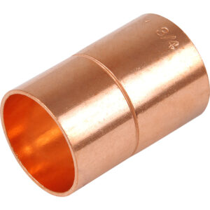 End Feed Straight Coupler 54mm