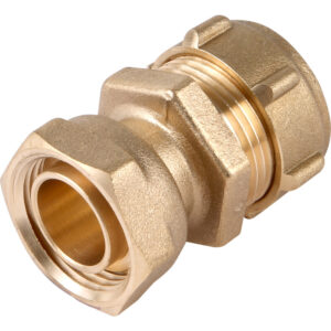 Straight Tap Connector 22mm x 3/4''