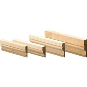 25mm x 63mm Softwood Ogee Architrave per M
