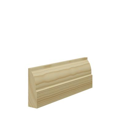 25mm x 63mm Softwood Ovolo Architrave per M