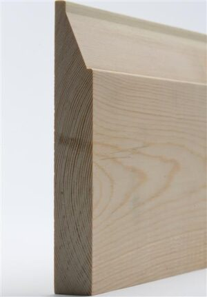 25mm x 150mm Skirting Contemporary Reversible Premium Grade per M