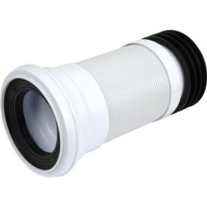 110mm Straight Flexible Pan Connector 200mm-350mm