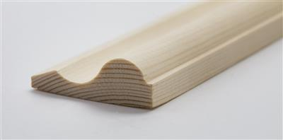 14.5mm x 44mm Finishing Ogee Panel Mould 2.4m