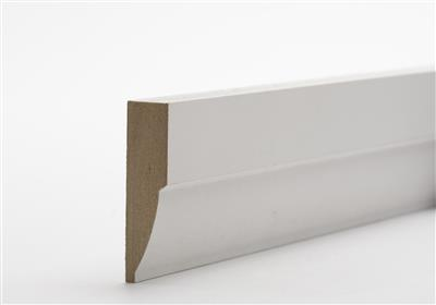 18 x 69mm x 4.2m Primed MDF Grooved Architrave