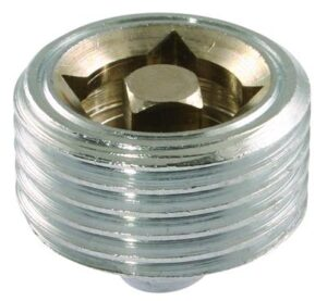"""1/4"""" Chrome Plated Air Vents"""