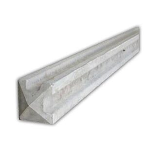 2745mm Slotted Corner Concrete Post 9ft