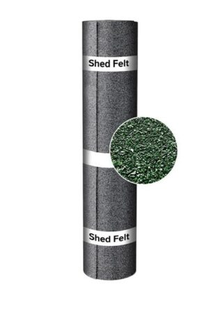 10m x 1m Shed Felt Polyester