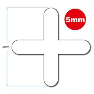 5MM LONG LEG TILE SPACER 250pcs