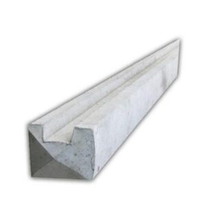 2745mm Slotted End Concrete Post 9ft