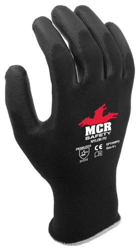 MCR Safety GP1049PU General Purpose PU Coated Safety Gloves 9(L)