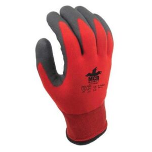 MCR Safety WL1048HP1 Winter Lined HPT Palm Coated Safety Gloves 8(M)