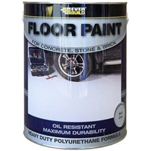 EverBuild Floor Paint Matt Red 5L